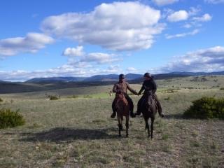 rando cheval 160km Florac