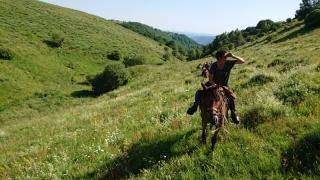 randonnee cheval cevennes auvergne 2018  (11)