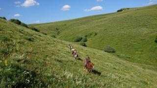 randonnee cheval cevennes auvergne 2018  (12)