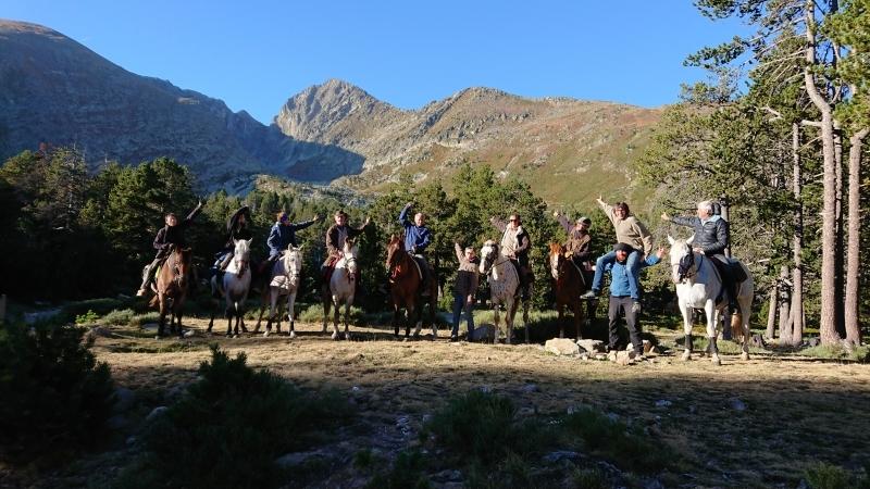 randonnee cheval cevennes canigou 2018  (16)