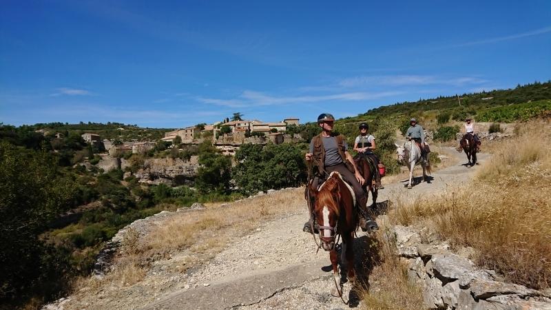 randonnee cheval cevennes canigou 2018  (8)
