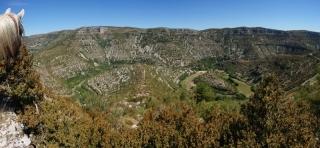 Panoramique Psymon Cirque Navacelles
