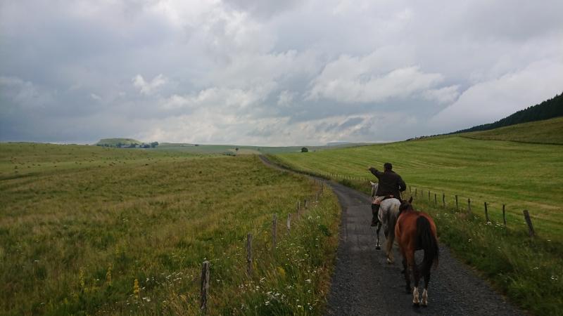 randonnee cheval cevennes auvergne 2018  (20)