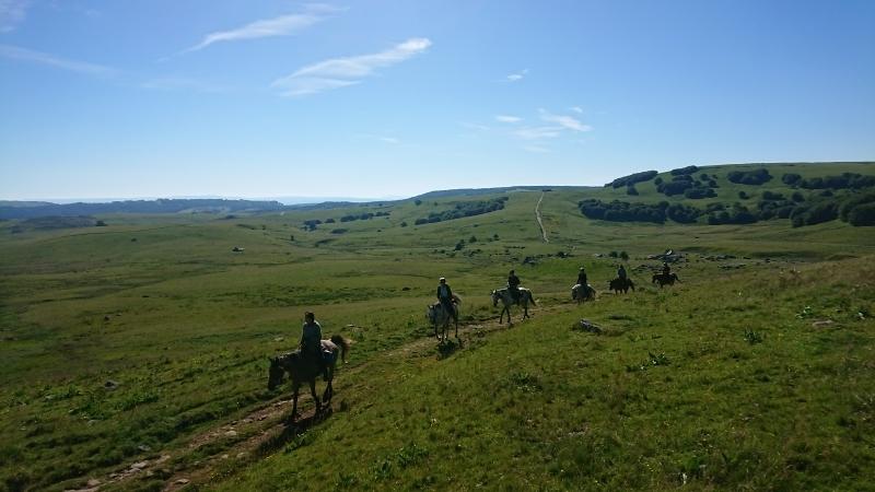randonnee cheval cevennes auvergne 2018  (5)