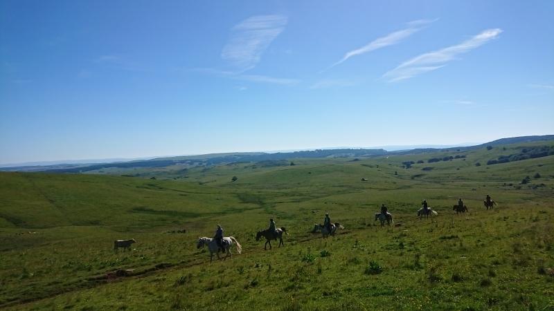 randonnee cheval cevennes auvergne 2018  (6)