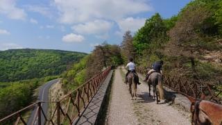 randonnee cheval cevennes 2018 (1)