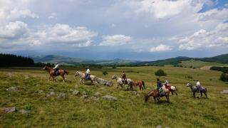 randonnee cheval cevennes auvergne 2018  (19)