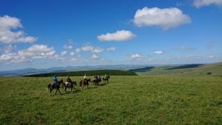 randonnee cheval cevennes auvergne 2018  (23)