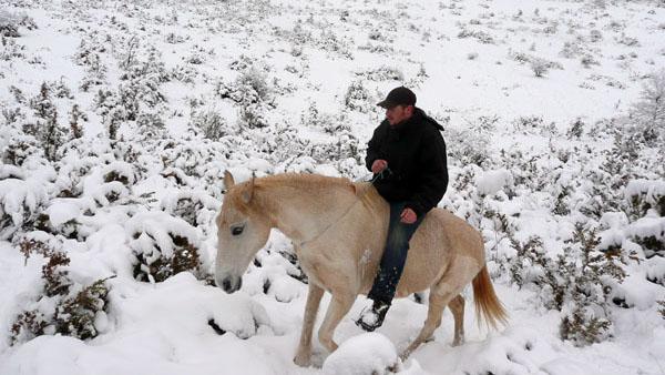 robin guide à cheval et fondateur de cavalquinta